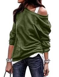 Naliya Women <b>Off The Shoulder</b> Tops Loose Sweatshirts <b>Autumn</b>