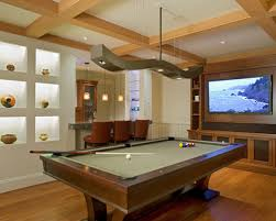 saveemail eclectic media room billiard room lighting