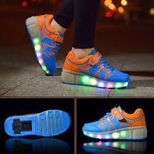 Fashionable <b>LED</b> Roller-<b>Skate Heelys</b> Wheel <b>Shoes</b> Sneaker ...