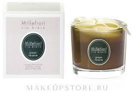 Millefiori Milano Via Brera <b>Green</b> Reverie - <b>Ароматическая свеча</b> ...