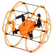 <b>Радиоуправляемый квадрокоптер</b> с защитной сеткой <b>SkyWalker</b>