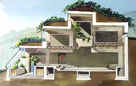 Halsgame Rustic Berm Home   House Plans And More  Home Plans and    Halsgame Rustic Berm Home   House Plans And More  Home Plans and House plans