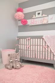 yullis nursery a softly modern chic nursery with touches of grey pink and baby furniture rustic entertaining modern baby