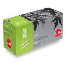 Купить <b>Картридж Cactus CS-E16</b> Черный для Canon FC100/108 ...