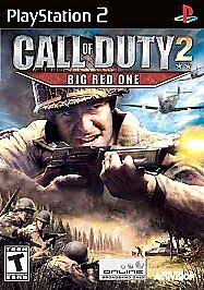 Call of Duty 2: Big <b>Red One</b> (Sony PlayStation 2, 2005) for sale ...