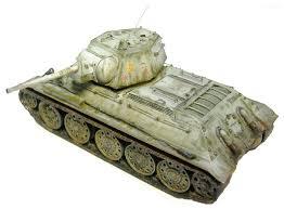 <b>Сборная модель ZVEZDA Советский</b> средний танк Т-34/76 (обр ...