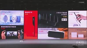 <b>Xiaomi</b> announced 7 new <b>accessories</b> for the <b>Mi</b> 10 series today: We ...