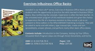 in the simulated work program students are given the chance to experience the life of a business assistant as they accept business concepts business life office