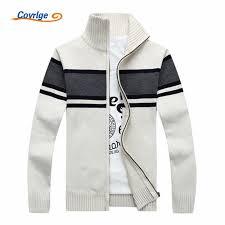 <b>Covrlge Men Stripe</b> Sweater 2019 Autumn Winter New Thick <b>Mens</b> ...