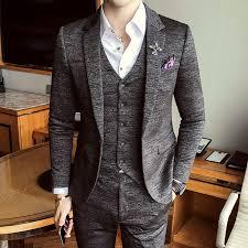 2019 Luxury <b>New Arrival Autumn</b> Formal <b>Mens</b> Suits Wedding ...