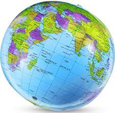 inflatable earth globe - Amazon.co.uk
