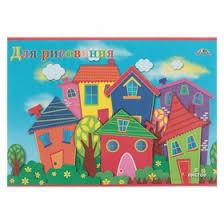 <b>Тетрадь</b> для рисования A4, 8 листов на скрепке «Городок ...