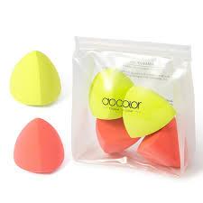 Neon <b>Makeup</b> Sponge Collection - <b>4pcs</b> – <b>DOCOLOR</b> OFFICIAL