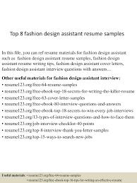 fashion designer resume sample comparison essay thesis example 150705143941 lva1 app6891 thumbnail 4 top 8 fashion design assistant resume samples fashion designer resume sample fashion designer resume sample