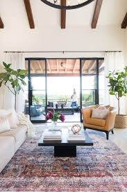 room modern camille glass: exotic rug living room makeover camille styles home