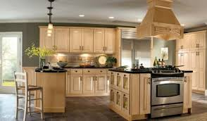 Kitchen Appealing Color Schemes With Light Wood Cabinets Choosing The Most Photo Of New At Captivating Best Paint