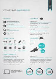 great examples of creative resumes   designrfix comdesignrfix comsara catanzariti   graphic resume