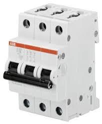 <b>Автоматический выключатель ABB</b> S203 <b>3P</b> (B) 6kA — купить по ...