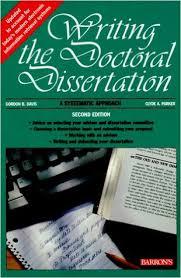 Writing the Doctoral Dissertation  Gordon B  Davis                    Amazon com Writing the Doctoral Dissertation  Gordon B  Davis                 Amazon com  Books