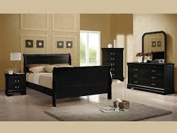 bedroom set main: louis philippe black queen pc set