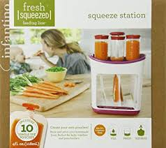 Infantino Fresh <b>Squeezed</b>, <b>Squeeze Station</b>, White: Amazon.ca: <b>Baby</b>
