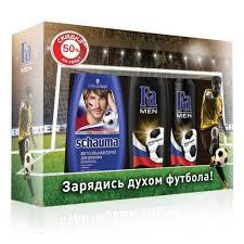 Подарочный набор SCHAUMA + <b>FA</b> Футбольная серия (Аэрозоль ...