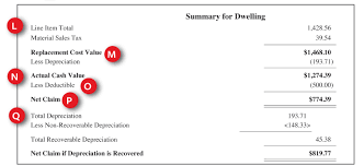 guide to understanding your property claim estimate travelers q total recoverable depreciation