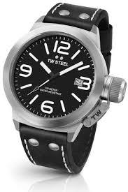 <b>TW Steel</b> Canteen Leather Strap <b>Watch</b>, 50mm | Men's Watches в ...