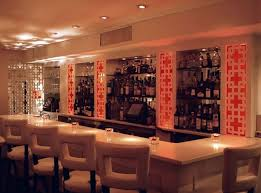 sleek white restaurant bar furniture design david burke townhouse upper east side nyc bar furniture designs