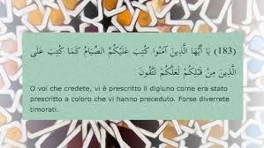 Ramadan in Italia 1437/2016