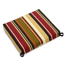 amazing stripe patterned target outdoor cushion with red brown black and green color combination black patio chair cushions