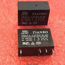 <b>Free Shipping 100</b>% <b>new</b> original relay 10pcs/lot TRA3 L 12VDC S ...