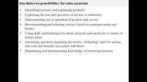 resume retail responsibilities resume retail responsibilities resume