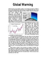 imgjpg global warming on earth physics project   gcse science   marked by  page
