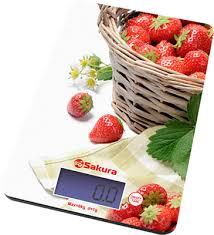 <b>Весы кухонные электронные Sakura</b> SA-6075K купить в интернет ...