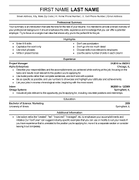 experienced resume templates to impress any employer livecareer choose