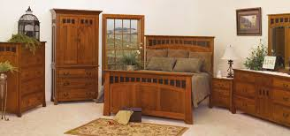 image of mission style bedroom furniture collection brown solid wood furniture