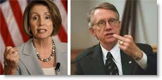 Image result for pelosi and reid