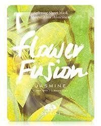 <b>Flower Fusion</b>™ <b>Jasmine</b> Softening Sheet Mask   <b>Origins</b>