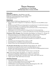 Assistant Bookkeeper Resume 26 Excellent Bookkeeper Resume