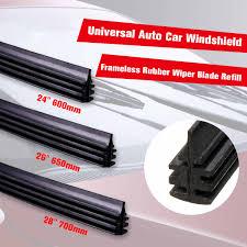 <b>Universal</b> Car Front <b>Windscreen Wiper</b> Blade Rubber Strip Cover ...