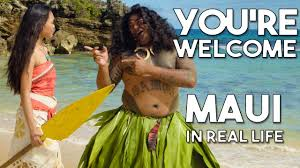 Maui's You're Welcome from Disney's <b>Moana</b>/Vaiana   Official WWL ...