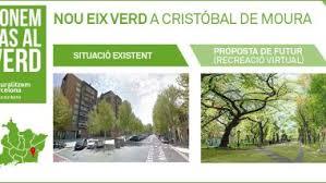 Cristóbal de Moura, closer to becoming a greener and calmer street ...