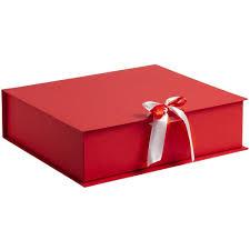 <b>Коробка на лентах Tie</b> Up, красная - Контур-Фото Фотоуслуги