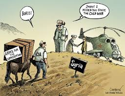 Image result for CIA IN SYRIA CARTOON