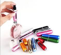 <b>5ml</b> Portable <b>Mini</b> Empty <b>Refillable Perfume</b> Bottle Spray Atomizer ...