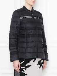 <b>Куртка</b> стеганая декорированная кружевом <b>Persona by</b> Marina ...