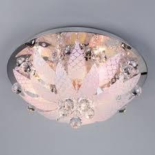 <b>Потолочный светильник</b> с пультом флористика <b>5563/6</b> хром ...