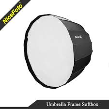 70cm <b>NiceFoto</b> Parabolic <b>softbox</b> Deep <b>softbox</b> Umbrella frame ...