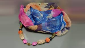 Video Tutorial: <b>Scarf</b>-<b>necklace</b> - YouTube